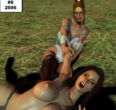 Kinky master jeering red ponytailed chick in high boots in his basement