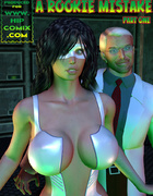 Kinky doctor sets up experiments on poor slave robo-girls created by his