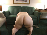 fat bitch spreads her