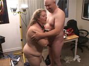 busty blonde fat mom