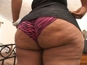 chubby black mom short
