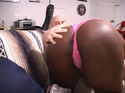 busty black mom sucking