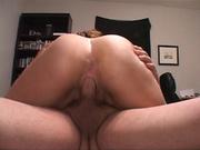 ponytailed wavy milf with