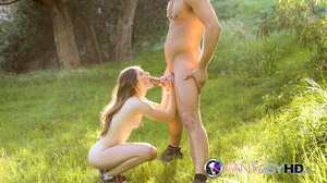 Small-titted teen gets doggystyled outdo - XXX Dessert - Picture 16