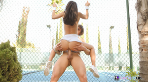 Teen tennis player jumps on cock - XXX Dessert - Picture 8