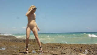 blonde curly teen naked
