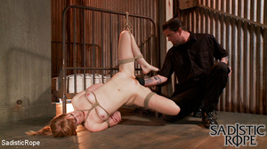 Red bond chick flogged and fisted before - XXX Dessert - Picture 3