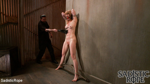 Red bond chick flogged and fisted before - XXX Dessert - Picture 6