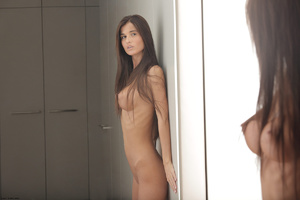 Slim long-haired beauty with big tits po - XXX Dessert - Picture 5