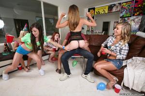 Modest birthday party turns to wild drun - XXX Dessert - Picture 2