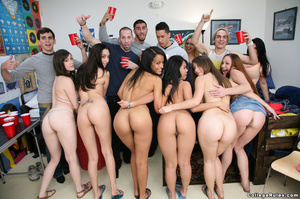 Lots of beer and naked students lead to  - XXX Dessert - Picture 2