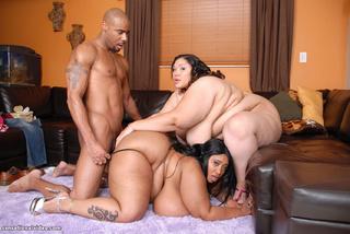 black guy pounds latina