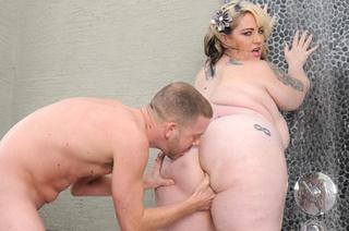tattooed blonde bbw banged