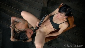 Tattooed bitch shinju bound and hung for - XXX Dessert - Picture 2