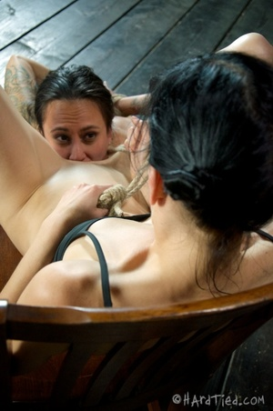 Tattooed bitch shinju bound and hung for - XXX Dessert - Picture 11