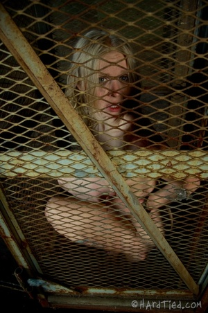 Tattooed blonde tied hard for bad painfu - XXX Dessert - Picture 5