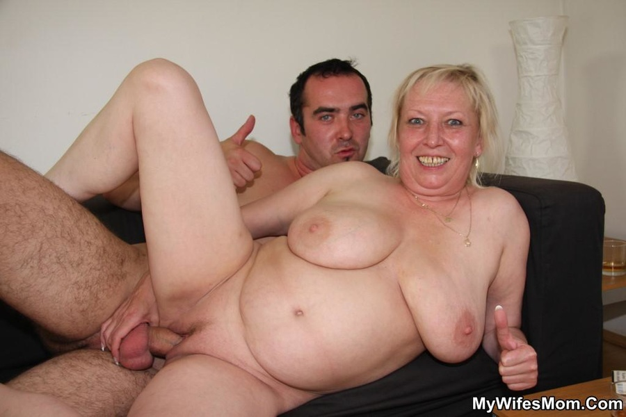 Amazing  mature chubby swallow