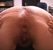 Plump latina MILF in black dress gets buttfucked