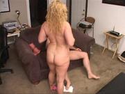 curly blonde milf loves