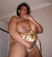 huge ebony slut with