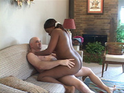 tattooed black mom with