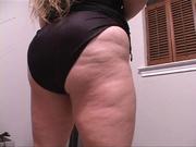 fat blonde mama black