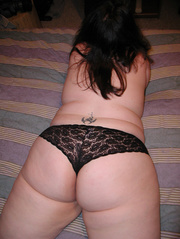 chubby brunette mom lace