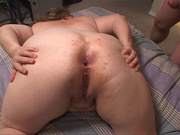 blonde fatty giving head