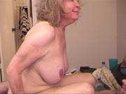 old slut with blonde
