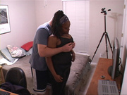 big-titted black mom with