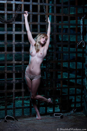 Blonde topless chick in lace panties enc - XXX Dessert - Picture 5