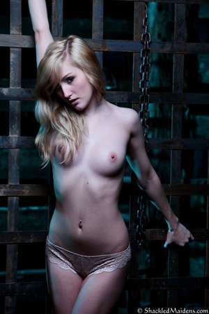 Blonde topless chick in lace panties enc - XXX Dessert - Picture 6