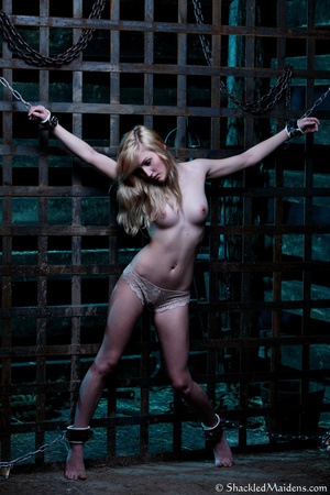 Blonde topless chick in lace panties enc - XXX Dessert - Picture 9