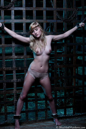 Blonde topless chick in lace panties enc - XXX Dessert - Picture 11