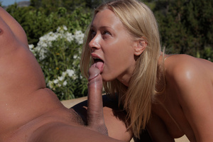 Bald dude seduces russian goddess in bik - XXX Dessert - Picture 8