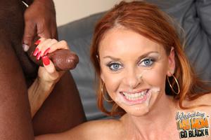 Redhead slutty MILF wants sperm mask for - XXX Dessert - Picture 15