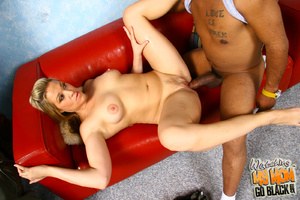 Natural breasted bitch suck black balls. - XXX Dessert - Picture 13