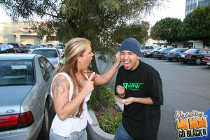 Kinky tattoo lady molested by black gang - XXX Dessert - Picture 2