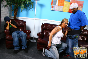Kinky tattoo lady molested by black gang - XXX Dessert - Picture 7