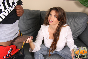 MILF beg for big dick to fill her big pu - XXX Dessert - Picture 6