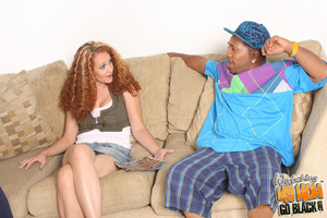 Hot red haired mom fucked by big black c - XXX Dessert - Picture 3