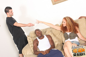 Hot red haired mom fucked by big black c - XXX Dessert - Picture 4