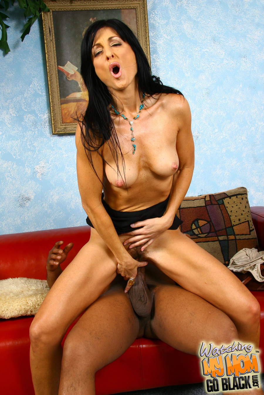 Black haired milf