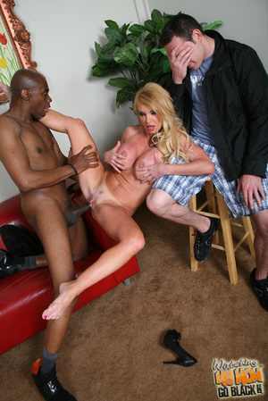 Good loocking blond rides black phytons. - XXX Dessert - Picture 14