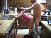 cute cockhappy housewife gets