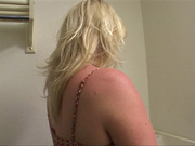 horny seductive blond wife