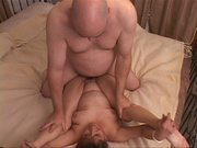 naked granny riding cock