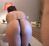 Big and cute sensuous chick lies down to suck dick and then sets ass for