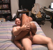 Sexy cute ebony enjoys her deep hot anal penetrations and cowgirl fuck