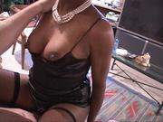 black mama hot black